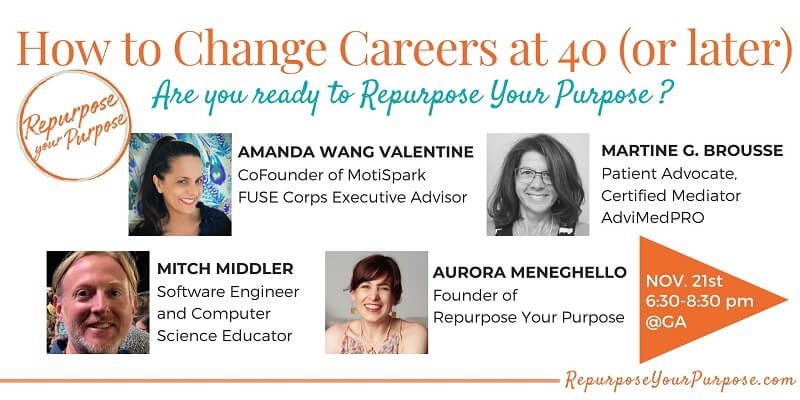 How to Change Careers at 40 (or later)