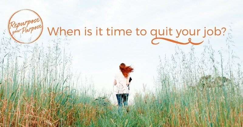 When is it time to quit your job?