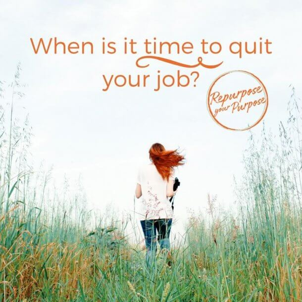 When is it time to quit your job
