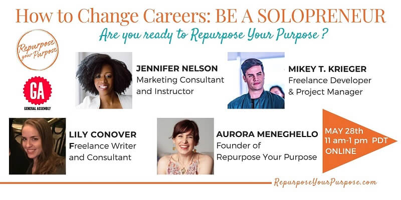 How to Change Careers: Become a Solopreneur