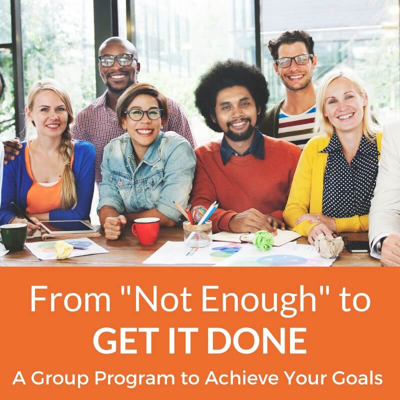 Join the Group Program to Get It Done