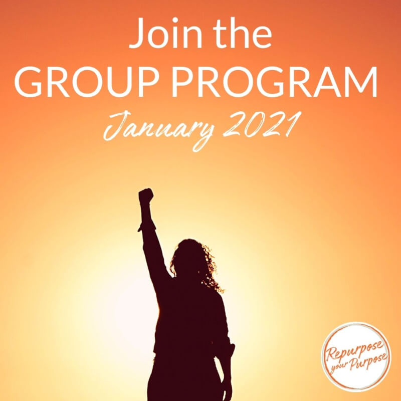 Join the the Group Program to Change Careers - we start in January 2021