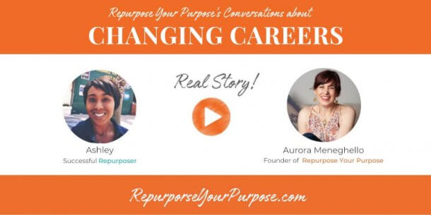Repurpose Your Purpose Testimonial - Ashley
