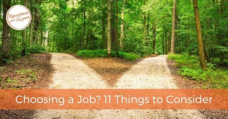 Choosing a Job? 11 Things to Consider